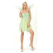 Tinkerbell Traje - Sexy Ladies Hadas Verde Del Vestido De Lu