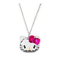 Collar Cara Cristal Hello Kitty Sanrio! Envio Gratis