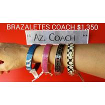 Bolsas Y Brazaletes Coach 100% Originales.nuevos. Mk,az