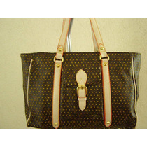 Bolsa Louis Vuitton Tote Monograms Canvas Puntos Oro