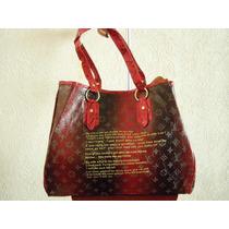 Bolsa Lv Louis Vuitton Voyager Monograms Roja