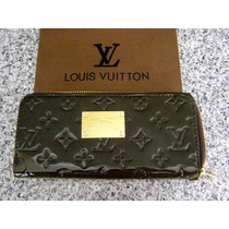 Cartera Lv Louis Vuitton Monograms Vernis Cafe