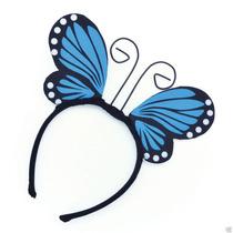Disfraz Mariposa - Blue Wings Diadema Vestido De Lujo
