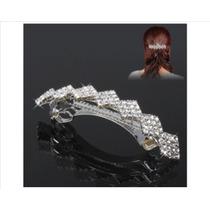 Clip Elegante Decorado Con Diamantes De Imitación