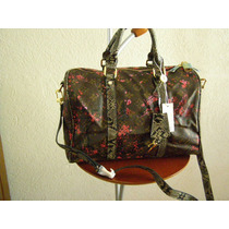 Bolsa Louis Vuitton Speedy Flowers Monograms Doble Aza