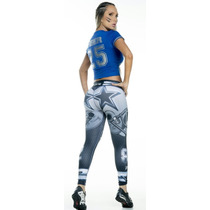 Leggins Mayon Nfl Lycra Modelos Cowboys Denver Patriots Gree