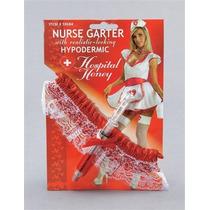 Traje De Enfermera - Enfermeras Liga Y Jeringa Gallina Vesti