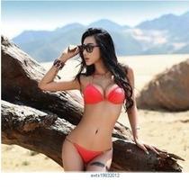 Bikini Moda Brasileña Color Salmón.#12
