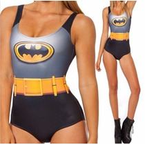 Traje De Baño Batman Estampado Envio Gratis
