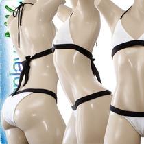 Bikinis Femeninos Corte Brasileño Talla Xch Xs P Vv4