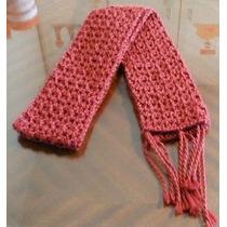 Bufandas Tejidas A Mano Crochet Más Modelos Y Colores