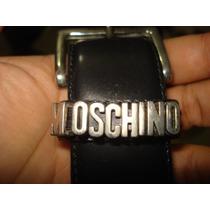 Cinturon Moschino Dama Seminuevo En Oferta Ganalo Ya¡¡¡