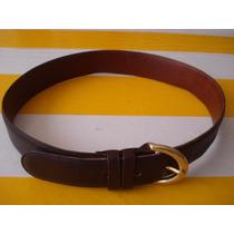 Cinturon Coach De Dama Seminuevo En Oferta 100% Piel Oferta¡