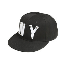 Gorra Cachucha Wet Seal Negra New York Ajustable Padrisima!!