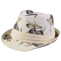 Gorra Hailey Jeans Co Womens Flor Imprimir Paja Fedora Hat