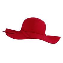 Gorra Elacucos Glamorous Ala Ancha Diva Estilo Floppy Hat R