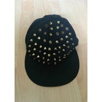 Increible Gorra Negra Spikes 100% Original!!