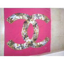 Chanel Pañoletas 100% Autenticas Seminuevas Envío Gratis