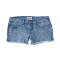 Short Aeropostale 11/12 L/xl Mezclilla Stretch Bermudas Ve!!