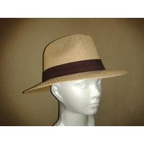 Sombrero Tipo Indiana Fibra Natural Tallas M-l-xl Unisex.