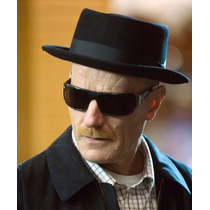 Sombrero Negro Ala Corta De Breaking Bad Heisenberg
