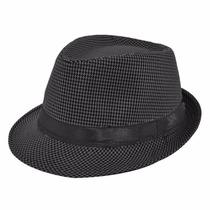 Sombrero Ala Negro Unisex Vintage Hipster Hombre Mujer