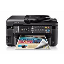 Impresora Epson Wf 3620 + Cartuchos Rellenables