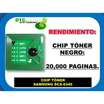 Chip Toner Samsung Scx-6345 Vbf