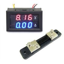 Display Corriente Y Voltaje Multimetro 100v 50a
