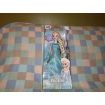 Muneca Frozen Elsa Disney Canta Y Birlla 40 Cm