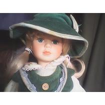 Muñecas De Porcelana Con Certificado Listas Para Regalar!!