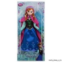 Muñeca Anna Frozen Disney Store Hermosa Colección 2013