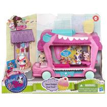Littlest Pet Shop Lindo Carrito De Dulces Hasbro Mn4