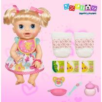 Baby Alive Cuidaditos De Verdad Muñeca Con Accesorios Hasbro