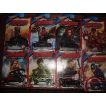 Avengers Los Vengadores Hot Wheels Set De 8 Carritos 2015