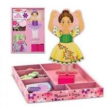 Muñecos Magnéticos De Madera Para Vestir. Para Niño Y Niña.