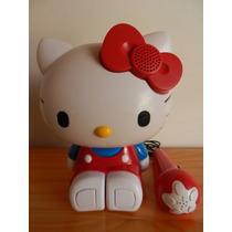 Hello Kitty Portable Radio Kareoke Con Microfono