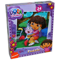 Tb Dora La Exploradora Dora The Explorer 24-piece Jigsaw