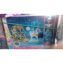 Disney Princesa Cenicienta Cinderella Carruaje Magico Muñeca