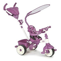 Little Tikes 4-en-1 Trike Ride On Rosa / Púrpura Sports Edit