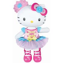 Hello Kitty Muñeca Bailarina Ropa Accs 33 Cms. Preciosa !