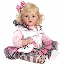 Muñeca Adora Tuddler Cuddly Ojos Azules Cabello Castaño