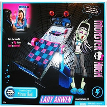 Monster High Mirror Bed Frankie Stein Cama Espejo Dead Tired