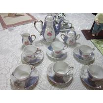 Vajilla De Porcelana Vintage De Los 60 Completa