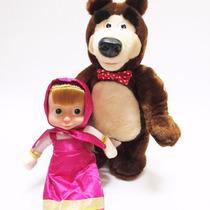 Muñeca Masha Y El Oso; El Oso Baila, Y Canta !!!!!