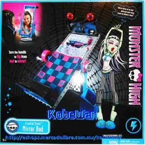 Monster High Frankie Stein Mirror Bed Cama Espejo Dead Tired