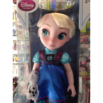 Elsa De La Película Frozen Disney Store Animators Collection