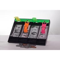 Caja Registradora Con Billetes De Juguetes Pesos Dolares