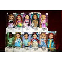 Muñecas Princesas De Animators De Colección De Disney !!!