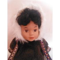 Muñeca Esquimal Arctic Circle Ent Anchorage Alaska Doll